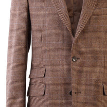 Load image into Gallery viewer, Donegal Tweed Jacket - Brown Prince of Wales
