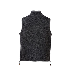 Grey Sleeveless Lined Vest