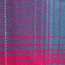 Load image into Gallery viewer, Merino & Cashmere Blanket, Pink Check