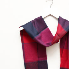 Load image into Gallery viewer, Merino Wool Scarf, Purple Mix