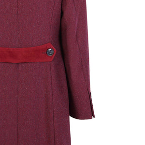 Middleton Coat, Plum