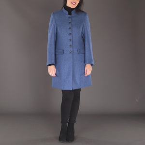 Millie Coat, Blue