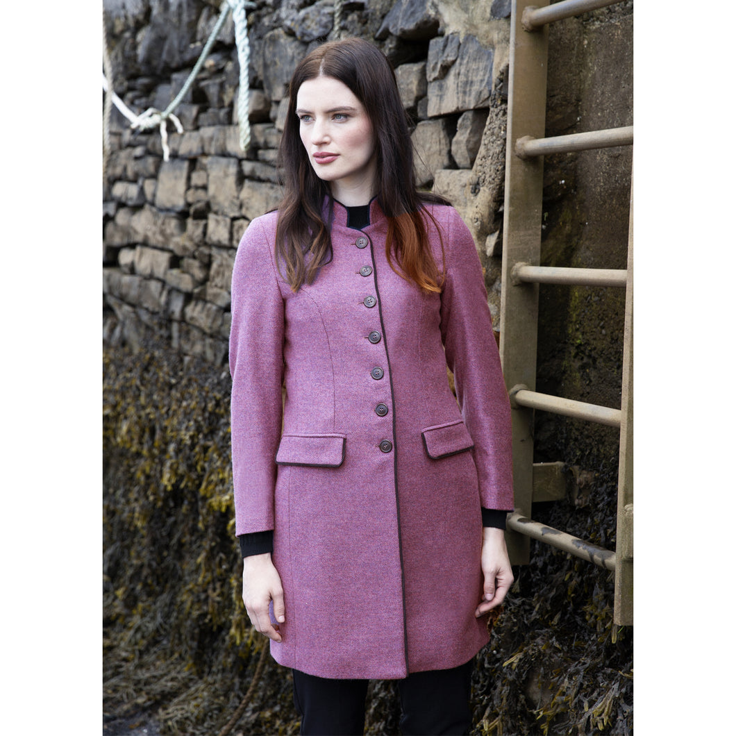 Millie Coat, Purple