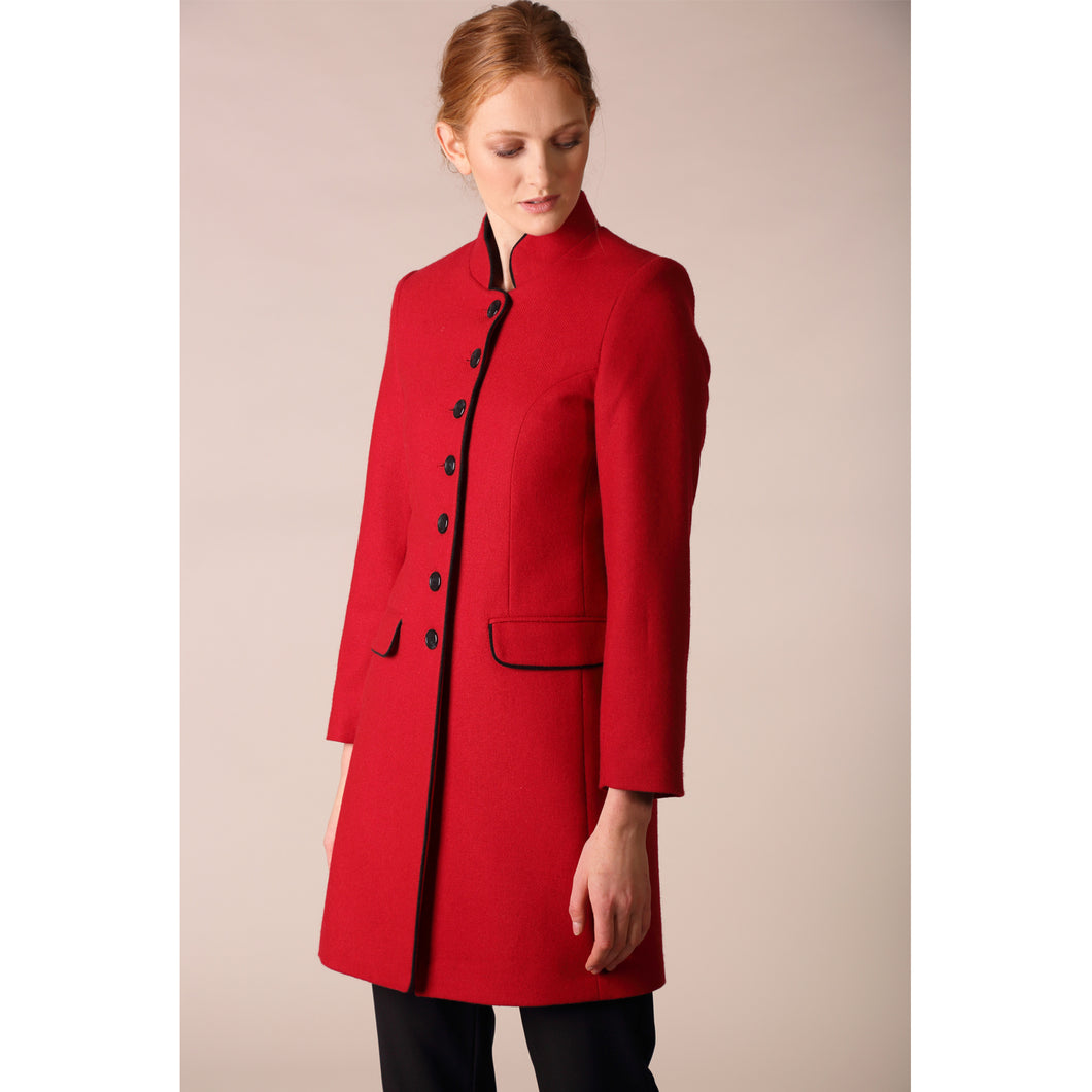 Millie Coat, Red
