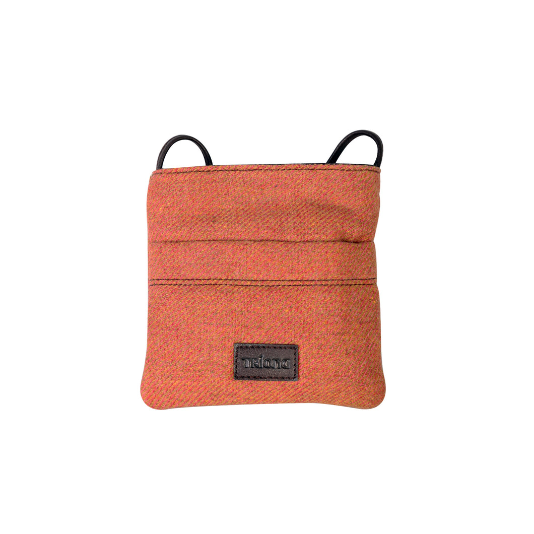 Mini Chest, Pink & Rust Twill