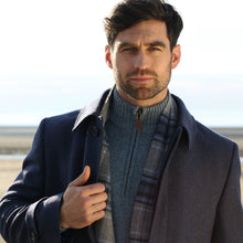 Load image into Gallery viewer, Peacoat, Navy Herringbone