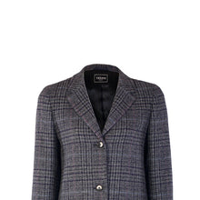 Load image into Gallery viewer, Daisy Coat, Navy Check
