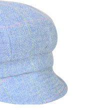 Load image into Gallery viewer, Newsboy Cap, Blue & Pink