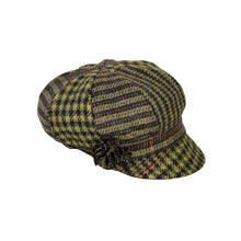 Load image into Gallery viewer, Newsboy Cap, Green Check
