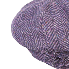 Load image into Gallery viewer, Newsboy Cap, Purple