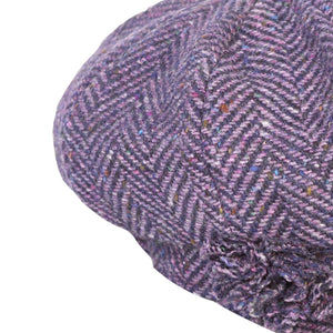 Newsboy Cap, Purple