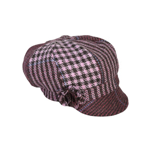 Newsboy Cap, Purple & Lilac