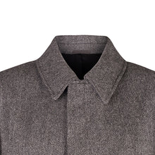 Load image into Gallery viewer, Peacoat, Charcoal Herringbone