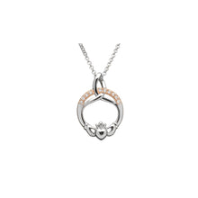 Load image into Gallery viewer, Trinity Claddagh Pendant