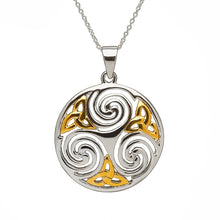 Load image into Gallery viewer, Celtic Round Pendant
