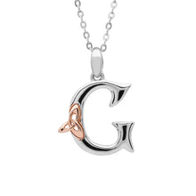 Load image into Gallery viewer, Celtic Initial Pendant G