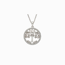 Load image into Gallery viewer, Tree of Life Circle Pendant