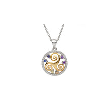 Load image into Gallery viewer, Newgrange Spiral Circle Pendant