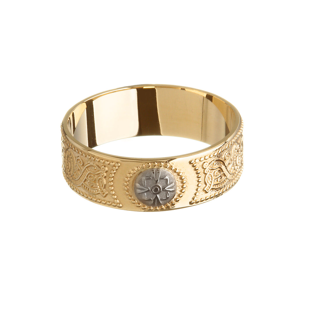 Arda Ring with Rare Irish Gold