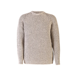 Fishermans Rib Crew Neck Sweater, Seagull