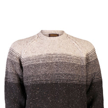 Load image into Gallery viewer, Crew Neck Sweater with Stripe, Guinness