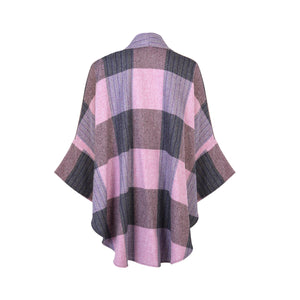 Roisin Cape, Lilac Check