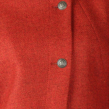 Load image into Gallery viewer, Short Tweed Jacket - Rust