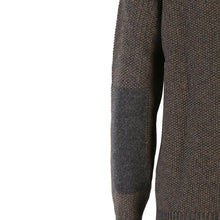 Load image into Gallery viewer, Seed Stitch Zip Neck Sweater, Tapenade
