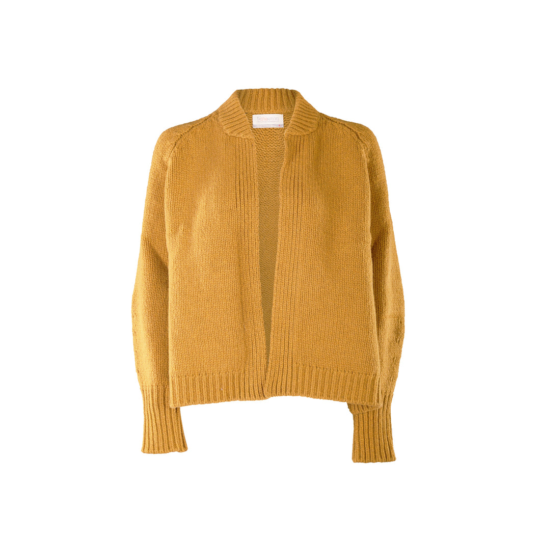 Short Edge to Edge Cardigan, Honeycomb