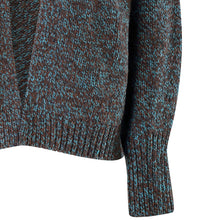 Load image into Gallery viewer, Short Edge to Edge Cardigan, Turquoise Coal
