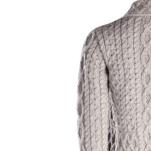 Load image into Gallery viewer, Short Zip Cardigan, Soft Grey