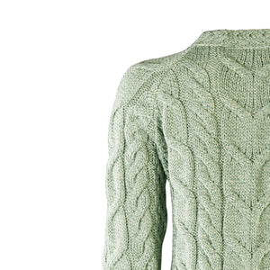 Supersoft Crew Neck Sweater, Mint