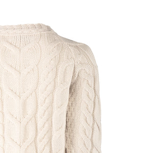 Supersoft Crew Neck Sweater, Natural