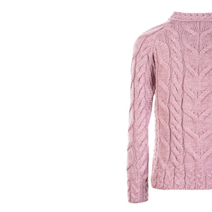 Supersoft Crew Neck Sweater, Pink