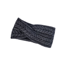 Load image into Gallery viewer, Aran Headband, Charcoal