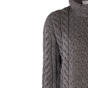 Supersoft Three Button Cardigan, Charcoal