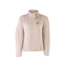 Load image into Gallery viewer, Supersoft Three Button Cardigan, Oatmeal