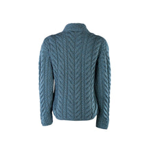 Load image into Gallery viewer, Supersoft Crossover Button Cardigan, Petrol