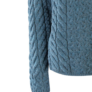 Supersoft Crossover Button Cardigan, Petrol
