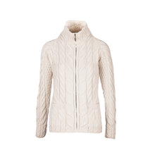 Load image into Gallery viewer, Supersoft Zip Cardigan, Natural