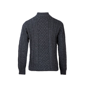 Half Zip Sweater, Charcoal