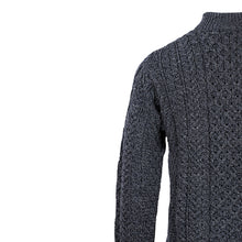 Load image into Gallery viewer, Half Zip Sweater, Charcoal