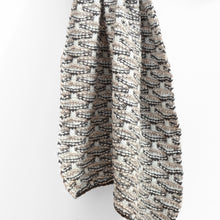 Load image into Gallery viewer, Shell Stitch Oversized Scarf, Grey Sky