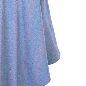 Trisha Cape, Lilac & Blue