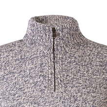 Load image into Gallery viewer, Zip Neck Sweater, Pebble
