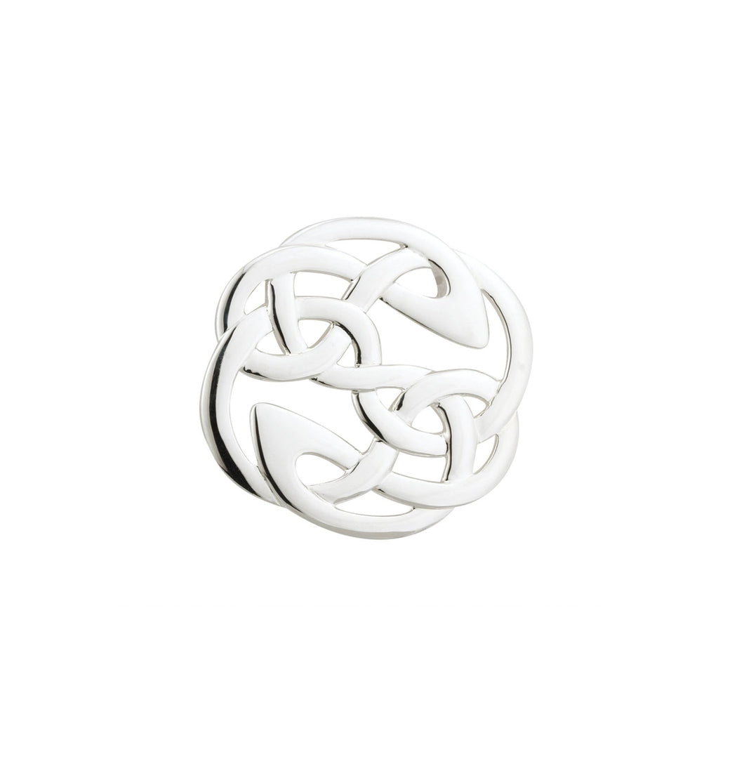 Sterling Silver - Celtic Knot Brooch