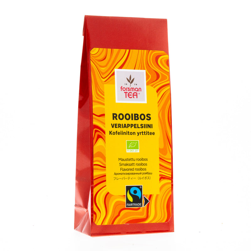 Luomu Rooibos Veriappelsiini 60g