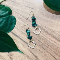 Hedge and Fox Earrings Sage