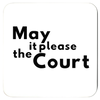 Lawyer Coasters Set of Four, Attorney Coasters, Judge Coasters - The Legal Boutique