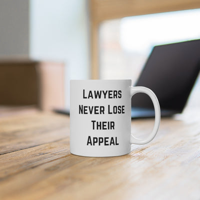 Lawyers Never Lose Their Appeal Mug